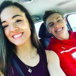 Maggie Nichols' Boyfriend Anton Stephenson -Instagram