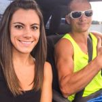 Kacy Catanzaro and Boyfriend Brent Steffensen