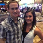 Paul Hamm with Kacy Catanzaro