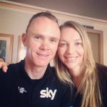 Chris Froome's wife Michelle Froome -Instagram