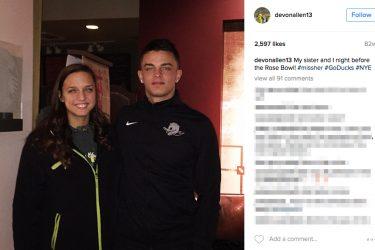 Devon Allen's Sister Carissa Allen- Instagram