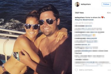 Kelley O'Hara's Ex-Boyfriend Adam Sweat - Instagram