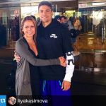 Matt Centrowitz's Girlfriend Liya Kasimova- Instagram