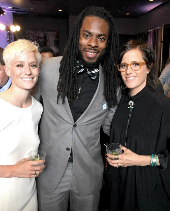 Megan Rapinoe's Girlfriend Sera Cahoone