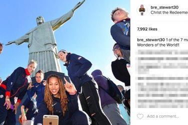 Breanna Stewart's Boyfriend JayVaughn Pinkston-Instagram
