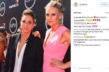 Is Diana Taurasi's girlfriend Penny Taylor - Instagram