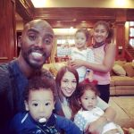 Mo Farah Wife Tania Farah and Family