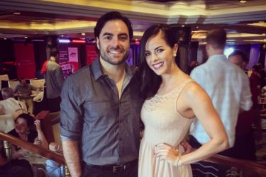 Nate Ebner and Girlfriend Chelsey Walton