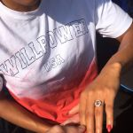 Will Claye Girlfriend Queen Harrison Proposal Ring
