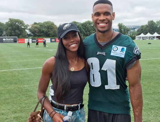 Jordan Matthews' Girlfriend Cheyna Williams
