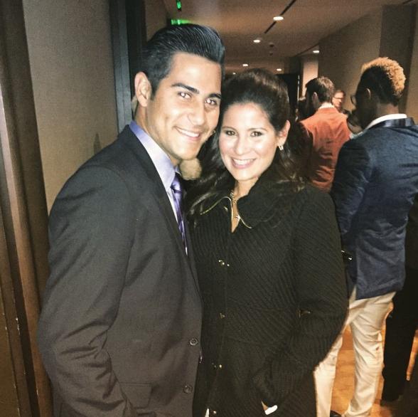 Martin Perez's Wife Viclena Perez
