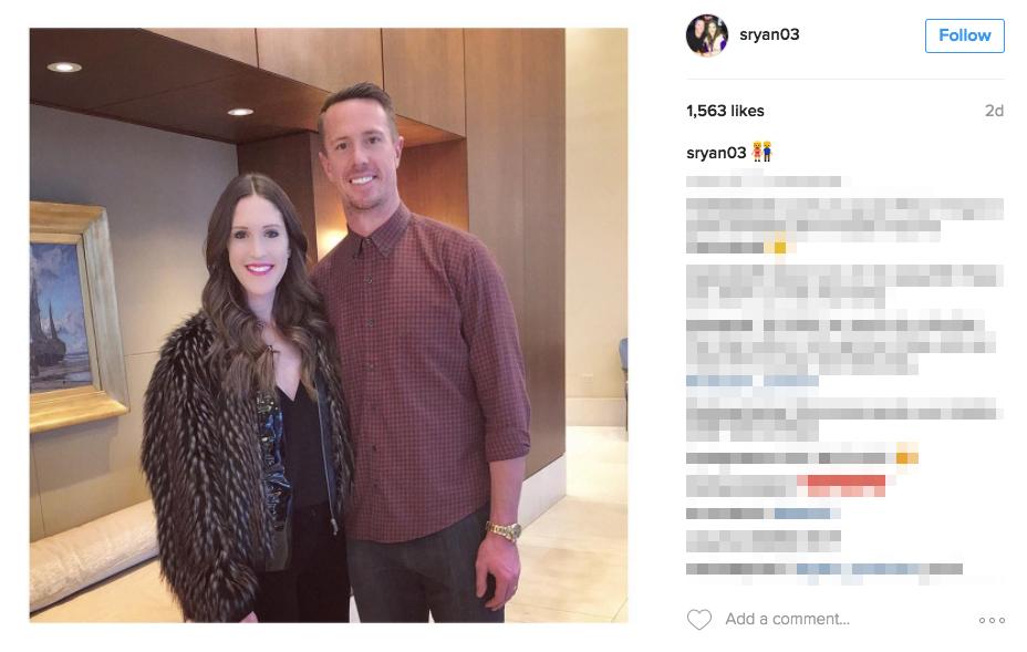 Matt Ryan's wife Sarah Marshall Ryan