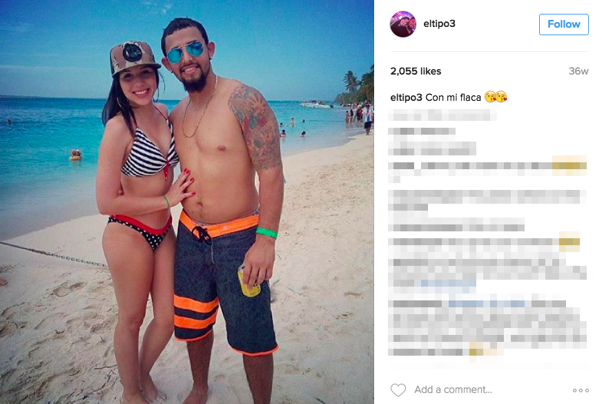Rougned Odor's Girlfriend Liusca Criollo