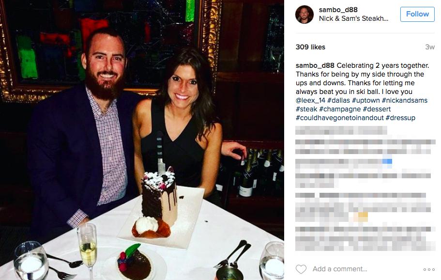 Sam Dyson's Girlfriend Alexis Elizabeth