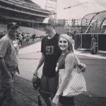 Trea Turner's Girlfriend Kristen Harabedian -Instagram
