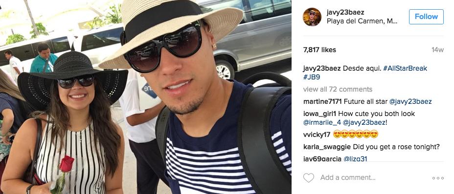 Javier Baez's Girlfriend Irmarie Marquez