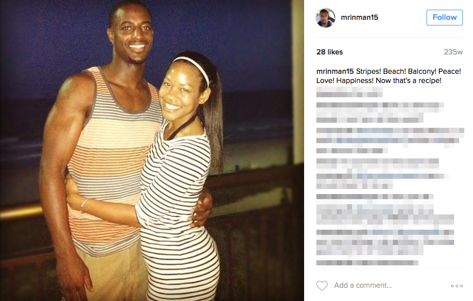 Dontrelle Inman's Wife Jessica Inman
