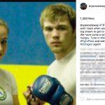 Miesha Tate's Boyfriend Bryan Caraway - Instagram