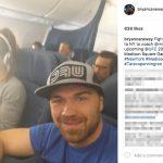 Miesha Tate's Boyfriend Bryan Caraway -Instagram
