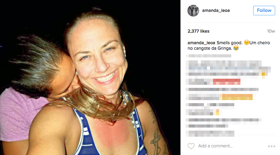 Amanda Nunes' Girlfriend Nina Ansaroff