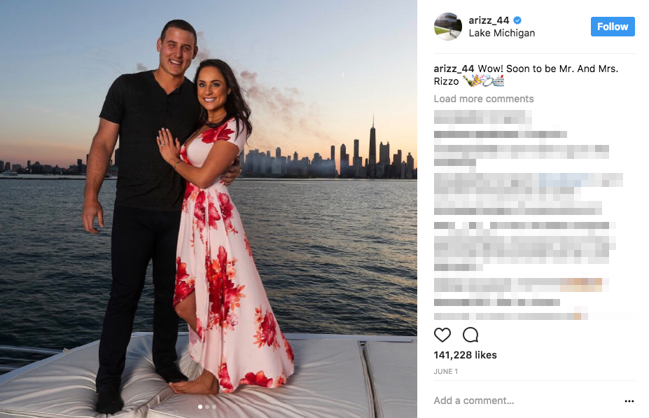 Anthony Rizzo's Wife Emily Vakos