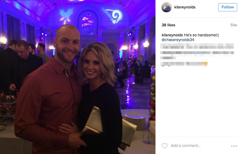 Chase Reynolds' Wife Kila Reynolds
