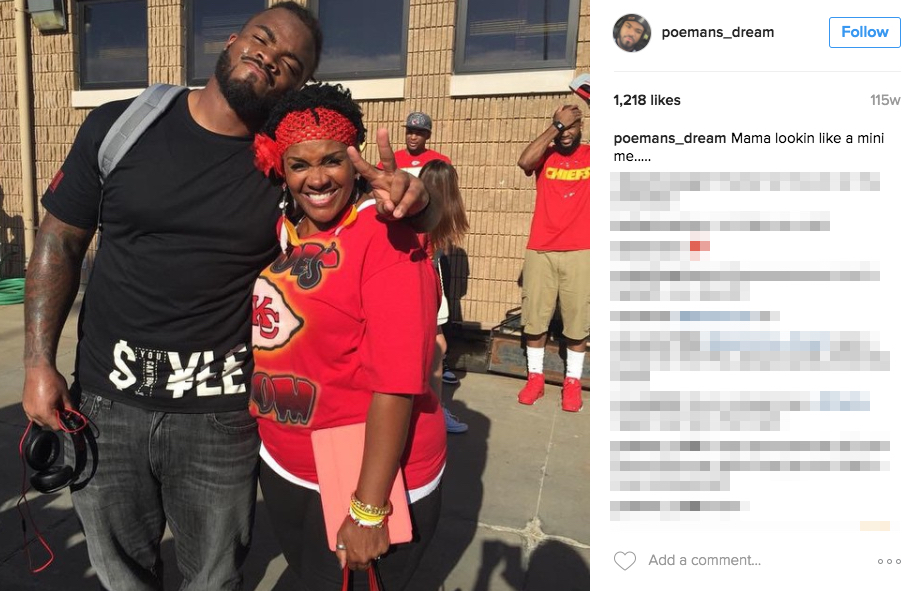 Let's Talk About Dontari Poe's Girlfriend and Mother Sandra Poe