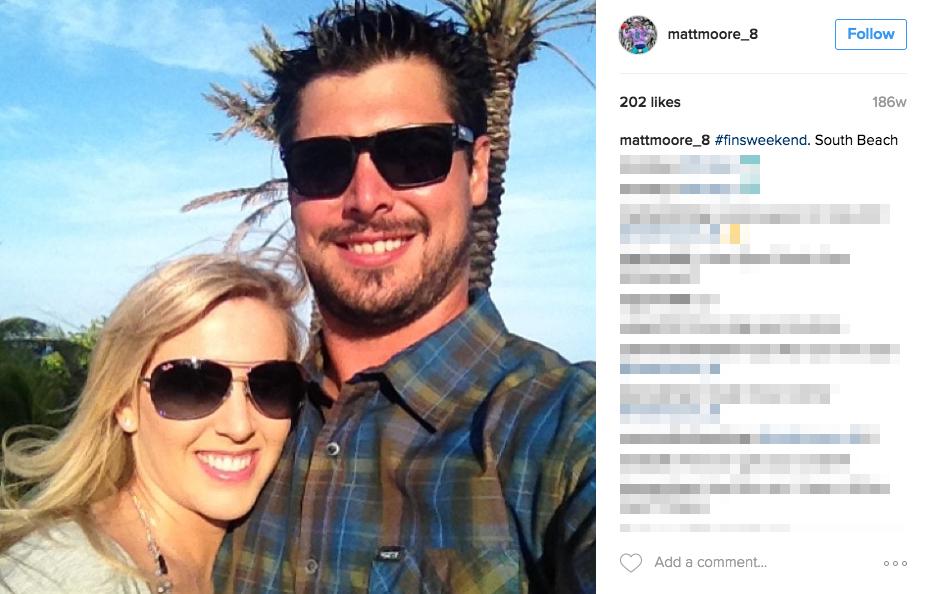 Matt Moore's Wife Tara Moore