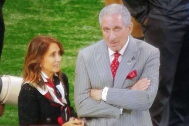 Arthur Blank's wife Angie Blank - ESPN
