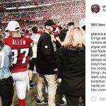 Ricardo Allen's wife Grace Allen - Instagram