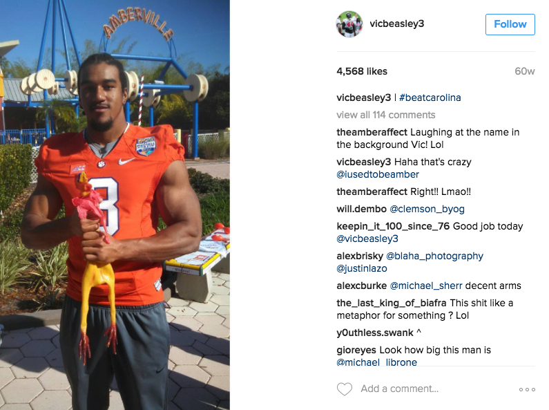 Vic Beasley's Girlfriend – A PlayerWives Recommendation