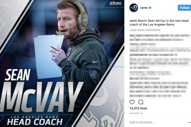 Who Should Be Sean McVay's Girlfriend - Instagram