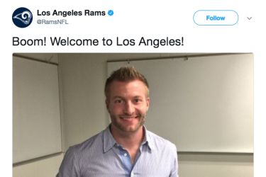 Who Should Be Sean McVay's Girlfriend - Twitter