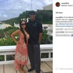 Byron Scott's girlfriend Cecilia Gutierrez-Instagram