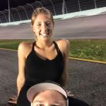 Chris Buescher's Girlfriend Emma Helton-Instagram