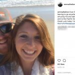 Chris Buescher's Girlfriend Emma Helton- Instagram