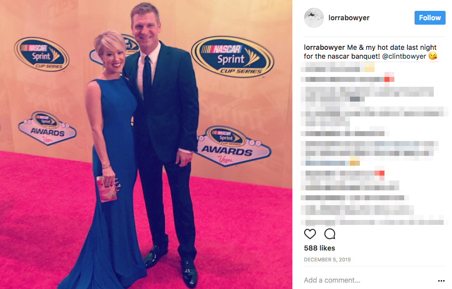Clint Bowyer's Wife Lorra Bowyer
