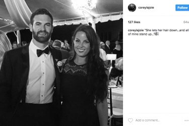Corey LaJoie's Girlfriend Kelly - Instagra