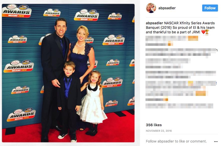 Elliott Sadler's Wife Amanda Sadler
