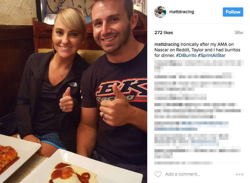 Matt DiBenedetto's Wife Taylor DiBenedetto