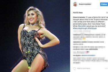 Michael Waltrip's girlfriend Emma Slater - Instagram
