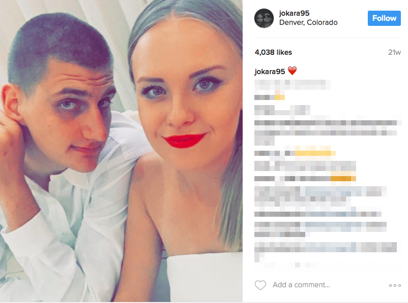 Nikola Jokic's Girlfriend Natalija Macesic