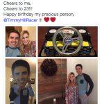 Timmy Hill's Girlfriend Lucy Kennedy-Twitter