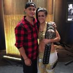 Bayley's boyfriend Aaron Solow - Instagram