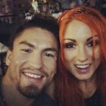Becky Lynch's boyfriend Luke Sanders - Instagram