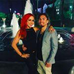 Becky Lynch's boyfriend Luke Sanders- Instagram