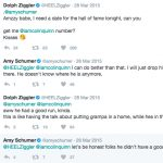 Dolph Ziggler's ex-girlfriend Amy Schumer-Instagram