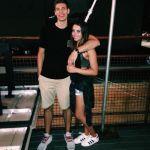 Ethan Happ's girlfriend Jordan Robbins- Twitter