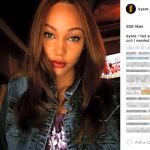 Is Josh Jackson's girlfriend Kysre Gondrezick -Instagram