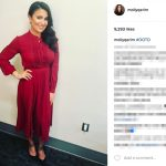 Jalen Rose's Girlfriend Molly Qerim-Instagram